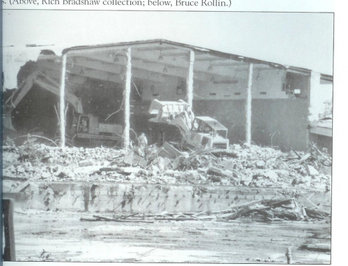 The school was demolished in 1988 to make room for new houses.